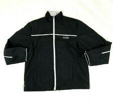 Womens Black Retro Size 14 UK Jacket Coat Ellesse Vintage Style Tracksuit
