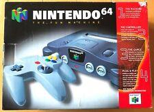 Nintendo 64 N64 Console 1 Controller, GoldenEye 007 - Original Packaging TESTED!