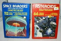 1980's Atari Game Boxes Only