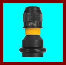 "Dewalt DW2298 Impact Ready 1/4"" Hex Shank Adaptor for 1/2"" Drive Impact Wrenches"