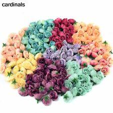 10pcs 2.5cm Mini Silk Artificial Rose Flowers Wedding Party Home Room Decors
