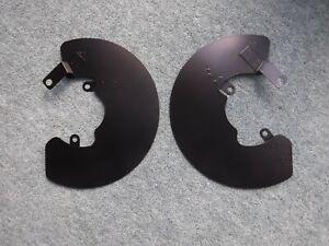 Daimler Dart SP 250 Rear Brake Disc Shields (pair)