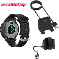 For Garmin vivoactive 4/ fenix6 Part Watch Charger Charging Dock Cable Replace
