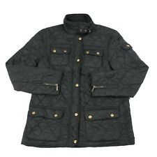 BARBOUR Fleece Lined Quilted Jacket | Padded Polarquilt Coat Insulated Diamond