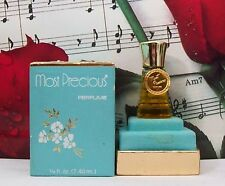 Most Precious Perfume 0.25 Oz. By Evyan. Vintage Sealed Bottle. Square Box.