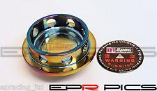 D1 Spec Oil Cap Neo Chrome Round for Ford / Mazda