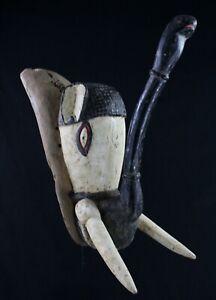 Art African tribal - Glam Deco Mask Elephant Bwa African Mask Maske - 60 CMS