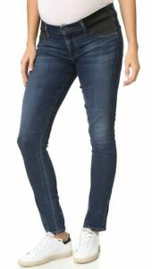 Citizens of Humanity Maternity Jeans Sz 24 Racer Skinny Low Rise Gorgeous!