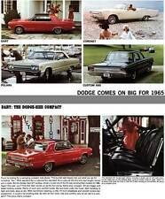 Dodge 1965 - Dodge Comes on Big for 1965