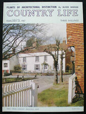 HOUSES AT BRENCHLEY VILLAGE TUNBRIDGE WELLS KENT 1pp MAGAZINE PHOTO COVER 1967