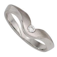 Echtschmuck aus Platin mit Diamant für Damen