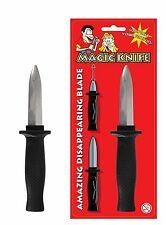 Retractable Knife Dagger Toy Disappearing Slide Joke Blade Trick Fancy Dress