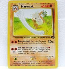 POKEMON set JUNGLE unlimited - carta MAROWAK - 39/64 inglese-MINT/NEAR MINT