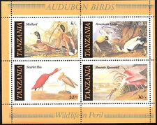 (Ref-10869) Tanzania 1986 Wildlife in Peril - Birds M/Sheet SG.MS468 Mint (MNH)