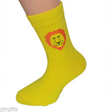 Cute Lion Design Childrens Socks - will suit Boy or Girl kids socks