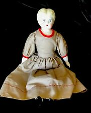 15�= vintage china head doll In Beautiful Condition.