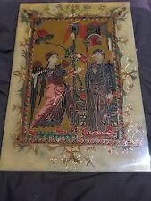Tableau Icône  Emaux Sur Cuivre Art Populaire Armenie