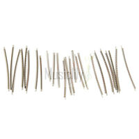 Musiclily Stainless Steel 2.9mm Acoustic Electric Guitar 24 Fret Wire Set Chrome