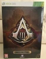 Assassin's Creed III 3 Freedom Edition Xbox 360 Limited Collectors New & Sealed