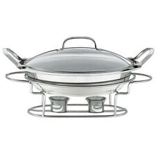 Cuisinart Stainless 11-Inch Round Buffet Servers