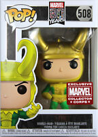 Funko POP! Marvel ~ LOKI FIGURE ~ MARVEL COLLECTOR CORPS EXCLUSIVE (#508)