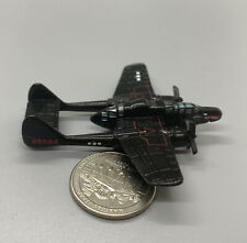 Micro Machines P-61 Black Widow Aircraft, 1998 LGTI, Good Condition