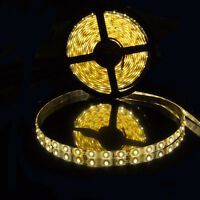 5M 16.4FT 5630 Super Bright Warm White LED Non-Waterproof Flexible Strip Light