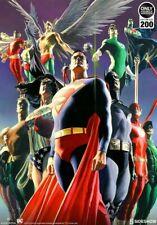 DC Comics Sideshow Alex Ross JLA Secret Origins Art Print Limited Edition 179/30