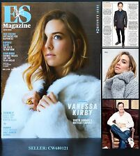 VANESSA KIRBY PIERS MORGAN GAEL GARCIA BERNAL ES MAGAZINE JAN 2016 NEW