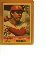1976 Topps #325 Tony Perez Cincinnati Reds SEE SCANS