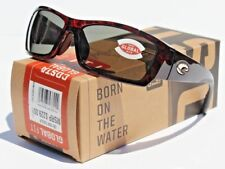 COSTA DEL MAR Corbina 580 POLARIZED Sunglasses Tortoise/Gray 580G Global Fit NEW