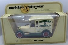 Matchbox Models of Yesteryear Y-5 1927 Talbot Van in Chivers and Sons Livery