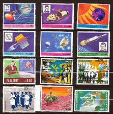 PARAGUAY : Exploration de l'espace , satellites,fusées,internautes , AX-D34