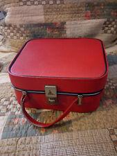 Vintage Red Vanity Case