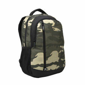"Targus Backpack Sports Work School Rucksack 15.6"" Laptop Bag MacBook Green Camo"