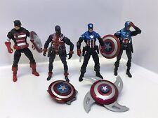 """Marvel Universe Patriotic Tough Guys Action Figures Infinites Legends 4"""" Lot"""