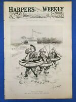 California Fruit, Gunboats, Baseball, Harper's Weekly Complete, Aug 3, 1895