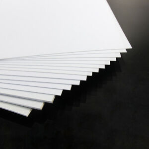 16pcs Mixed Thickness ABS Styrene Sheets 200 x 250mm Architectual Material