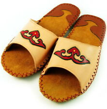 Handmade Genunie Leather Slipper Women Shoes 9
