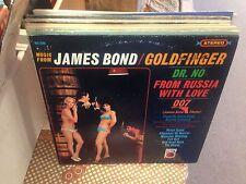 James Bond Goldfinger vinyl LP Metro Records VG+