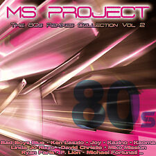 CD The 80s Remixes Collection Vol.2 von Ms Project