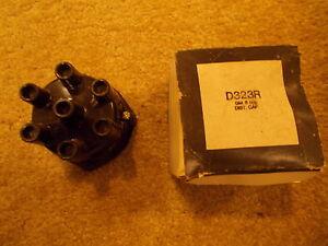 66 Checker Marathon 6 Cyl New Distributor Cap USA Made D323R Delco Style