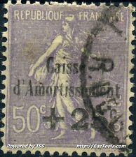 FRANCE CAISSE D'AMORTISSEMENT N° 276 AVEC OBLITERATION COTE 110€