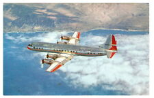 AMERICAN AIRLINES Electra Prop-Jet Aircraft VINTAGE Advertising Photo Postcard