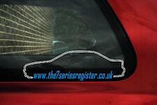 2x la BMW Serie 7 registro foro etiquetas engomadas, calcomanías