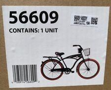 """Huffy 26"""" Nel Lusso Men's Cruiser Bike - Matte Black NEW IN-HAND SHIPS NOW ✅"""