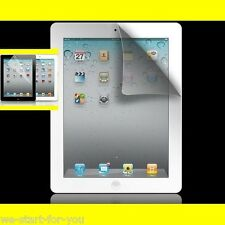 3x Película protectora mate para iPad 2 & 3 & 4 De Pantalla Anti huella digital