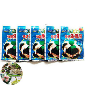 Powder Flower Rapid Rooting Plants for Fruit Cutting Tree Growth 5 Bag Agent