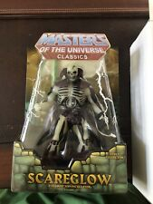 masters of the universe classics Scareglow Sealed With Mailer RARE