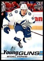 2019-20 UD SP Authentic  Update Young Guns #524 Mitchell Stephens RC